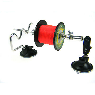 Portable and Stable Aluminum System 2 Double Leg Fishing Line Spooler System