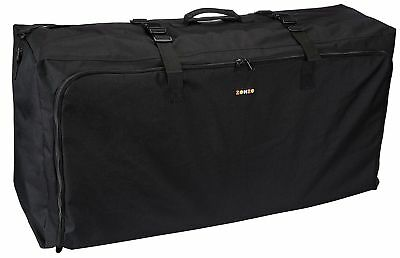 Zohzo Stroller Travel Bag for Standard or Double / Dual Strollers (Black)
