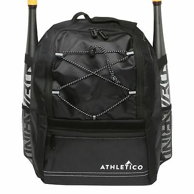 Athletico Youth Baseball Bat Bag - Backpack for Baseball, T-Ball & Softball E...