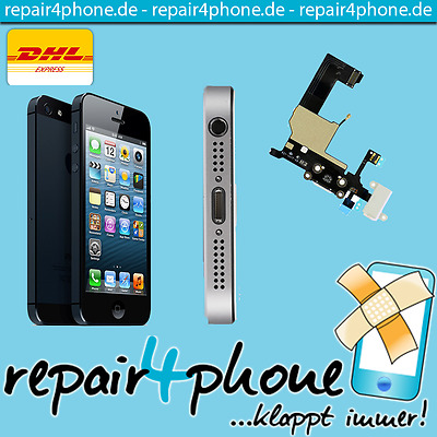 Apple iPhone 5S - Ladebuchsen Ladebuchse Dock Connector Reparatur -AC