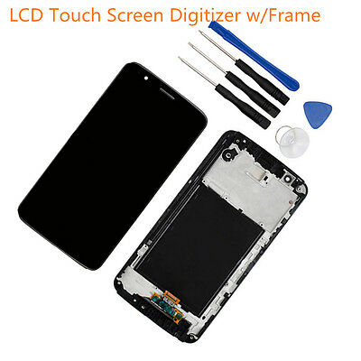 Gray LCD Touch Screen Digitizer+Frame For LG Stylo 3 L83BL L84VL M430 LS777 5.7""