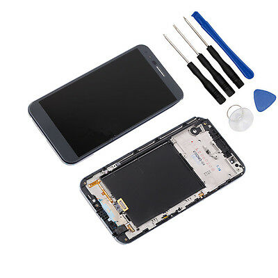 Gray LCD Screen Touch Digitizer+Frame For LG Stylo 3 Plus TP450 MP450 M470 M470F