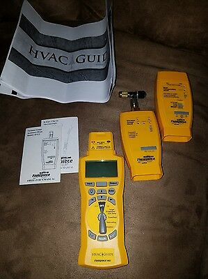 Fieldpiece Hg2 System Analyzer, Dual Temperature Head Ath4, Vacuum Gauge Avg2