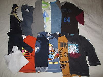 """ Mixed Baby Boys Clothes -  Sizes 1 ""  K-mart, Target, OshKosh, Bob the Builder"