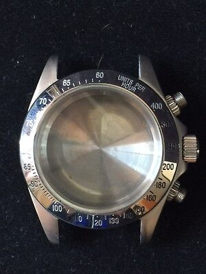 Case RLX Style with Tachymeter 7750 Valjoux Stainless Steel