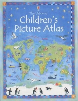 The Usborne Children's Picture Atlas (Hardcover)