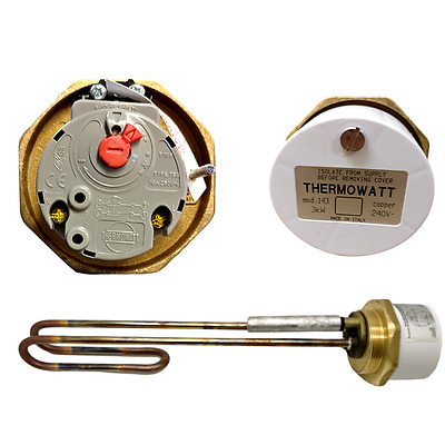 "Thermowatt MOD 143 14"" Immersion Heater 3kW + Anode"