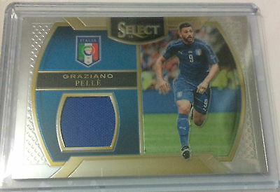 2016-2017 Panini Select Soccer Swatches Graziano Pelle