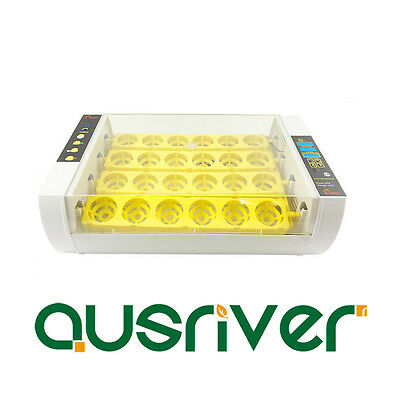 24 Egg Incubator Fully Automatic Turning Digital Hatcher Chicken Duck Poultry