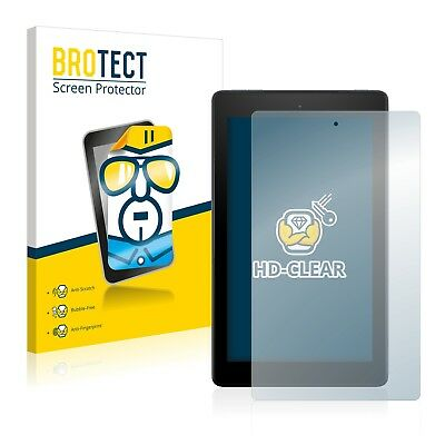 2x BROTECT Screen Protector for Amazon Fire 7 (2017) Protection Film