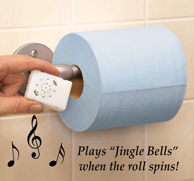Musical Motion Activated Toilet Roll, by Collections Etc