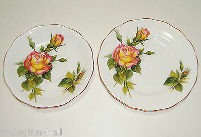 "BEAUTIFUL ROYAL STANDARD BONE CHINA SAUCER & SIDEPLATE ""PEACE"" Henry Wheatcraft"