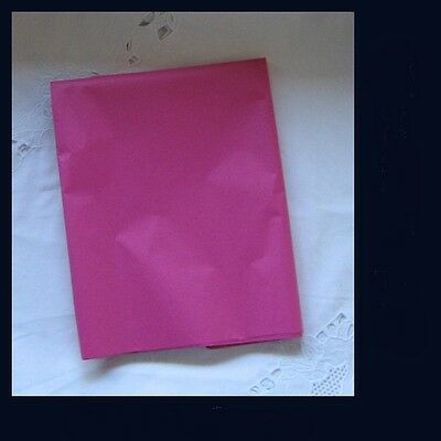 60 Cerese Pink  Tissue Paper Gift Wrap Craft Party Packing 500x750mm Acid Free