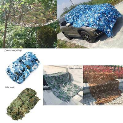 4x2M Camouflage Military Net Woodland Camo Netting Cover for Hunting Camping