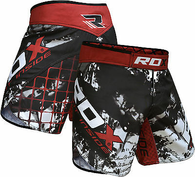 RDX MMA Shorts Grappling Short Muay Thai Cage Kick Boxing Gym Wear Fight UFC AU