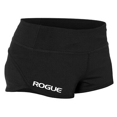 ROGUE  crossfit gym WOD workout shorts XS Black