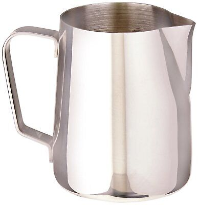 Rattleware 07000 Stainless steel, Macchiato Milk Frothing Pitcher, 12 Ounce New