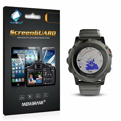 3 x Front Matte LCD Screen Display Protector Film Foil For Garmin Fenix 5 (47mm)
