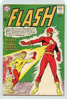 FLASH #135 (1963) 12c DC COMIC BOOK (1ST APPEARANCE OF NEW KID FLASH UNIFORM) VG