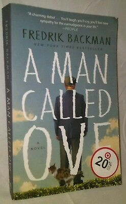 A Man Called Ove Paperback Novel by Fredrick Backman 2014