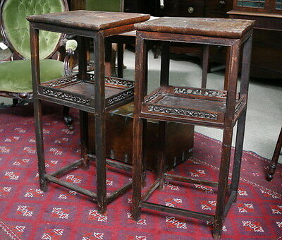 A pair of Antique Chinese Side Tables