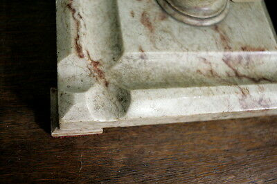Antique French Marble Ink Stand