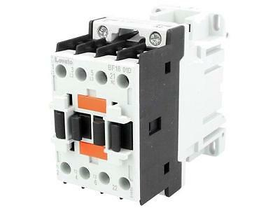 BF1801D024 Contactor3-pole Auxiliary contacts NC 24VDC 18A NO x3 DIN