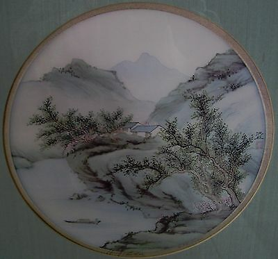 Hung Chu Lee  watercolor on silk painting  474/1000