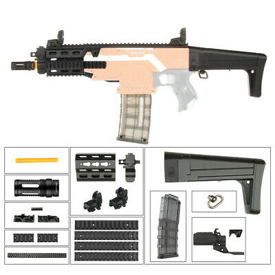 Worker Mod F10555 100mm Front Barrel Jacket Combo 10 Items for Nerf Stryfe Toy L