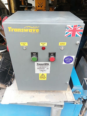 Transwave Rotary Converter RT5 5.5KW 7.5hp 415 Volts Output Just 20 Months old