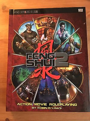 Brand New FENG SHUI 2 Action Movie Roleplaying Game CORE RULEBOOK. Robin D. Laws