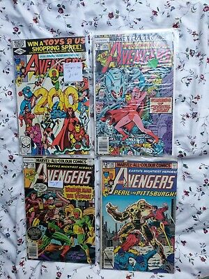 avengers silver age/bronze age issue 200 ! Ultron cover issue !! Joblot bundle
