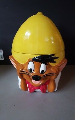 Speedy Gonzalez 1996 Warner Bros Cookie Jar Used