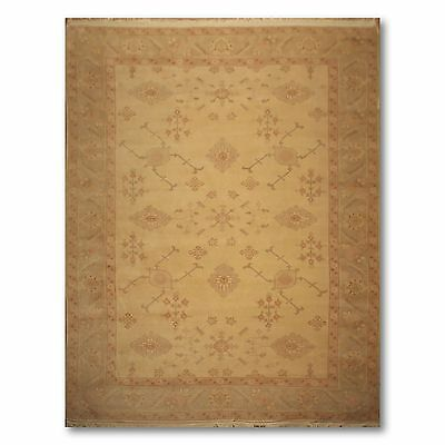 9' x 12' Hand Knotted Romanian Vegetable Dyes Persian Oriental Area rug wool