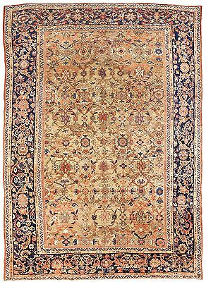 "Antique Persian Mahal Rug. 8'2""x 11'10"""