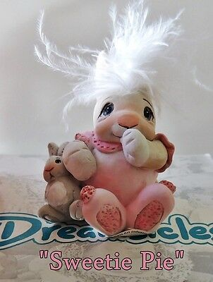"NEW IN BOX DREAMSICLE BUNNIE SUCKING THUMB w/ DOLL ""SWEETIE PIE"" 4 BABY NURSERY"
