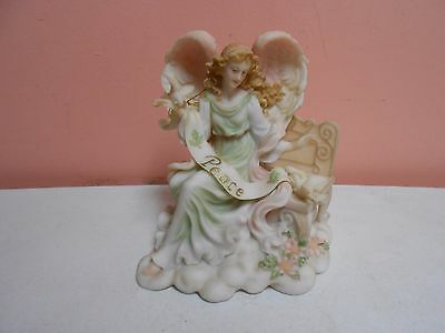 "Seraphim Angel 1998 Limited Ed #81508 Joy ""Gift of Heaven"" Roman Inc w/Tag"