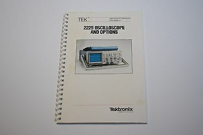 Tektronix 2225 Oscilloscope Manual 070-6298-01