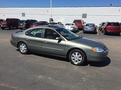 """2002 Ford Taurus SEL 2002 Ford Taurus """" SEL""""  4 DOOR 3.0L DOHC 24 V PFI WELL MAINTAINED LEATHER  6-CD"""