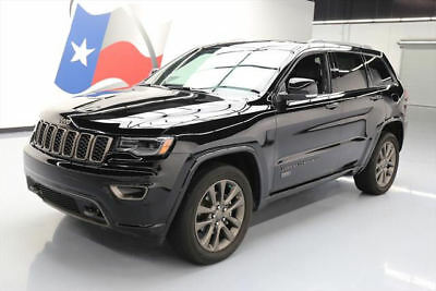 2017 Jeep Grand Cherokee Limited Sport Utility 4-Door 2017 JEEP GRAND CHEROKEE LTD 75TH ANNIV 4X4 NAV 12K MI #624893 Texas Direct Auto