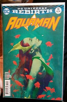 Aquaman #10 DC Universe Rebirth (Jan 2017)