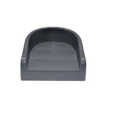 Prince Lionheart Soft Booster Seat - Gray