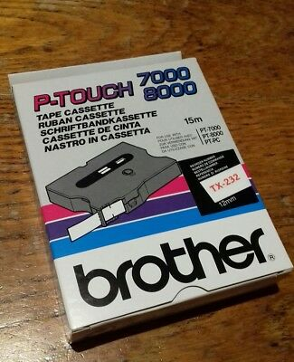 Brother P Touch tape 7000 8000