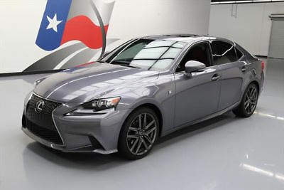 2014 Lexus IS  2014 LEXUS IS250 F SPORT SUNROOF NAV REARVIEW CAM 29K #023939 Texas Direct Auto