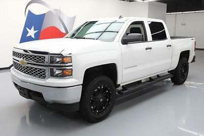 2014 Chevrolet Silverado 1500 LT Crew Cab Pickup 4-Door 2014 CHEVY SILVERADO 4X4 LT CREW 4X4 6-PASS 20'S LIFTED #453747 Texas Direct