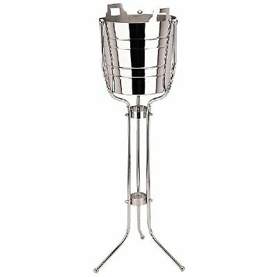Stainless Steel Wine Bucket Stand Only Champagne Cooler Ice Holder Bar Pubs