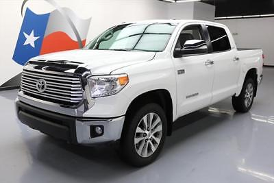 2017 Toyota Tundra Limited Crew Cab Pickup 4-Door 2017 TOYOTA TUNDRA LIMITED CREWMAX 4X4 SUNROOF NAV 12K  #591177 Texas Direct