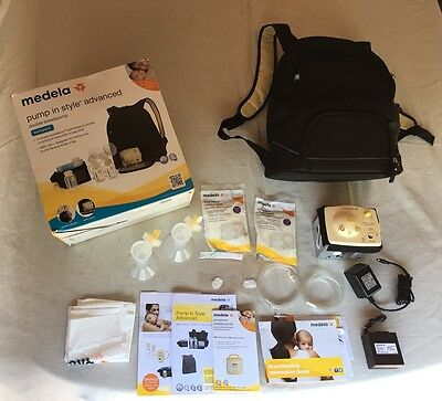 NEW MEDELA 57062 Pump In Style Advanced Double Breast Pump Backpack MISSINGPARTS