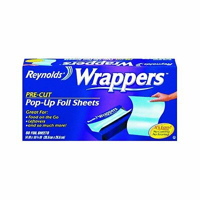 Reynolds Wrappers Aluminum Foil14inx10 1/4 in, 50 Sheets