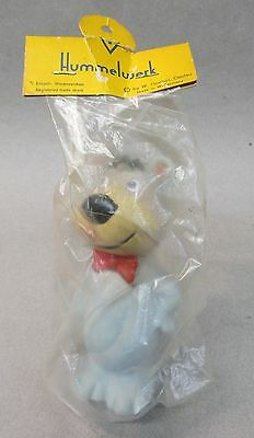 "5"" BOO BOO BEAR squeeze toy Goebel Hummelwerk W. Germany MINT IN PACKAGE 1960's"